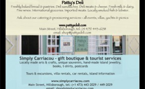 Printed Media – Patty's Deli & Simply Carriacou